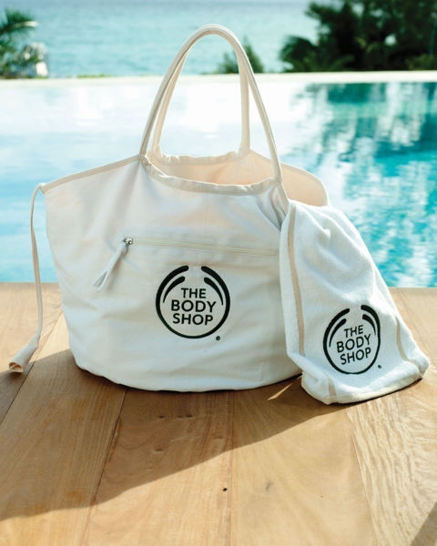 Picture of Nautical Reversible Bag & Freestyle Swim Towel Set