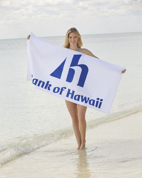 "Picture of ""Java"" Promotional Beach Towel"